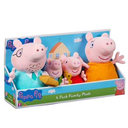 326608-peppa-pig-four-pack-family-plush