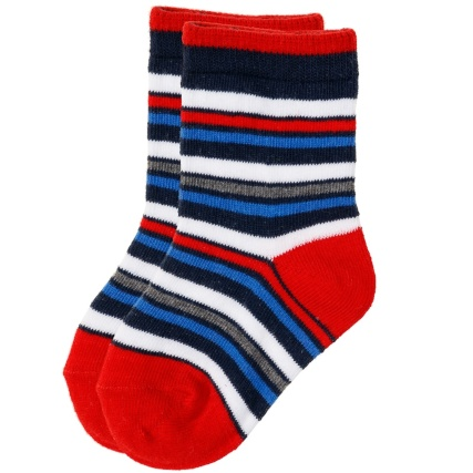 327131-little-star-8-pairs-baby-socks-cotton-rich-red-and-blue-7