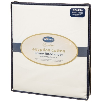 327474-Silentnight-Egyptian-Cotton-Luxury-Double-Fitted-Sheet-Cream-Updated