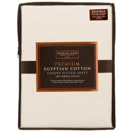 327474-downland-premium-egyptian-cotton-luxury-fitted-sheet-double-cream