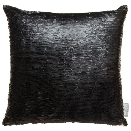 327613-Karina-Bailey-Reversible-Sequin-Cushion-Black-and-Gold-Large1