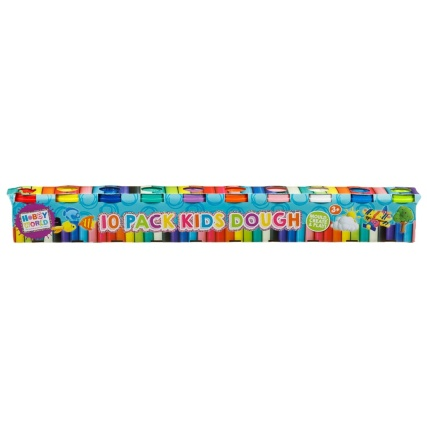 Hobby World Kids Play Dough 10pk