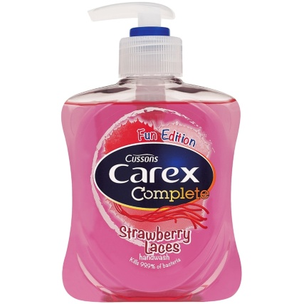 327834-Carex-Hand-Wash-Kids-250ml-Strawberry-Laces