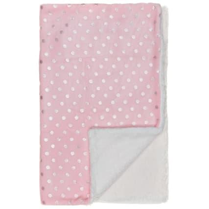 327948-Foil-Printed-Sherpa-Blanket-Pink