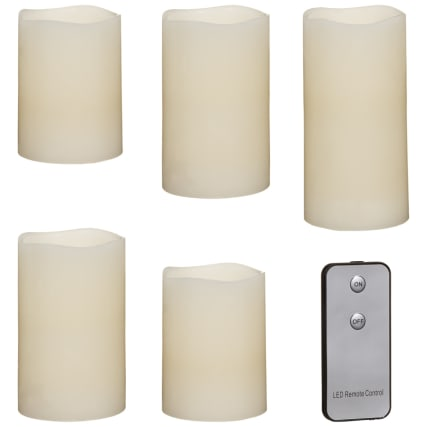 327977-set-of-5-plain-led-candles-3