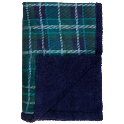 327998-Downland-Supersoft-Check-Sherpa-Throw