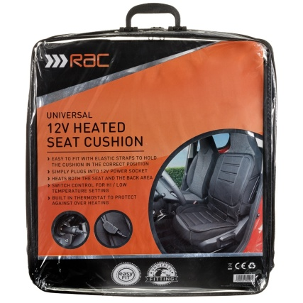 RAC Heated Car Seat Cushion