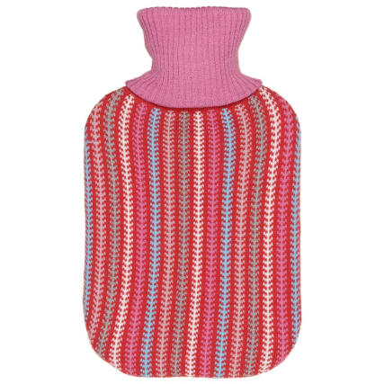328372-knitted-hot-water-bottle-2l-pink-stripes
