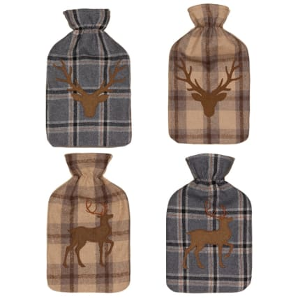328376-heritage-collection-hot-water-bottle-2l-brown-stag-head