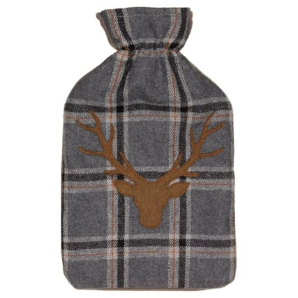 328376-heritage-collection-hot-water-bottle-2l-grey-stag-head