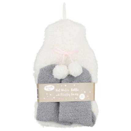 328378-snuggle-up-hot-water-bottle-with-fluffy-socks-cream-and-grey