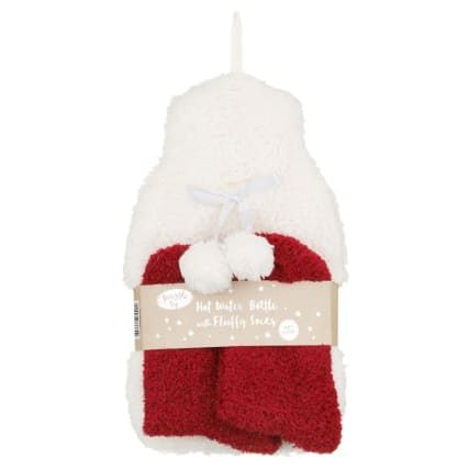 328378-snuggle-up-hot-water-bottle-with-fluffy-socks-cream-and-red