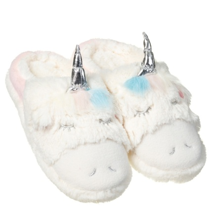Ladies Unicorn Slippers