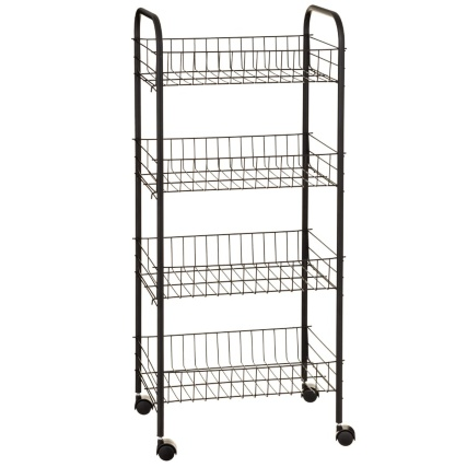 329811-beldray-4-tier-multipurpose-trolley-black