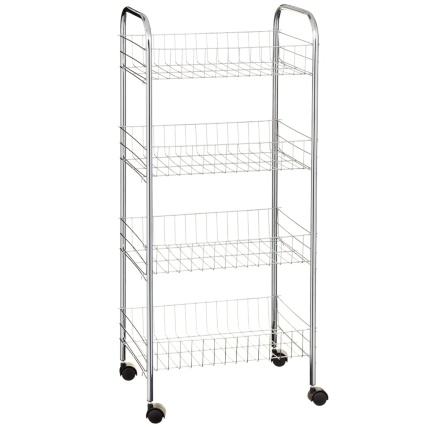 329811-beldray-4-tier-multipurpose-trolley-chrome