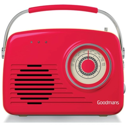 329176-Goodmans-Classic-Alarm-Clock-Red