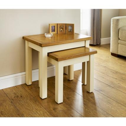 Newsham Nested Tables 2pc Living Room Furniture B M