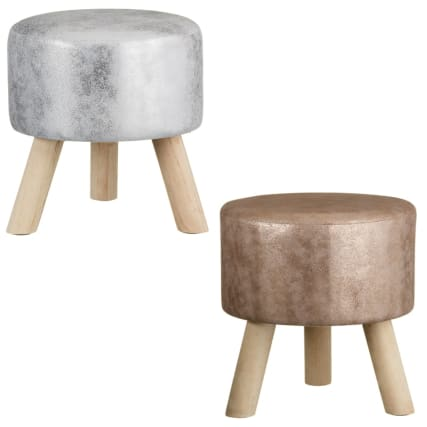 329834-home-decor-metallic-stool-silver