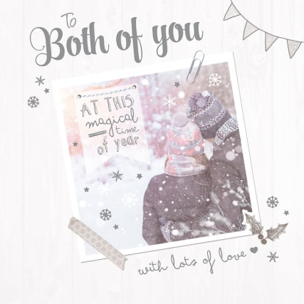 330425-Xmas-Card-B-Both-Of-You-Photo-Snowy-Couple