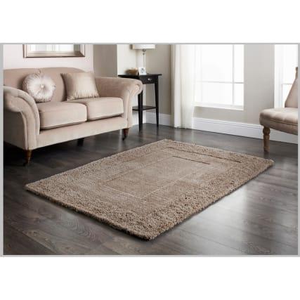 ascot mink carved rug 160 x 230cm rugs b m. Black Bedroom Furniture Sets. Home Design Ideas