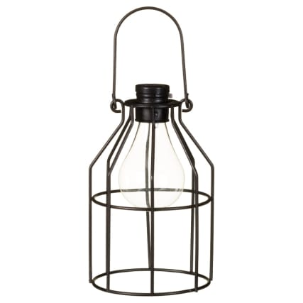 331237-metal-caged-solar-powered-lantern-black