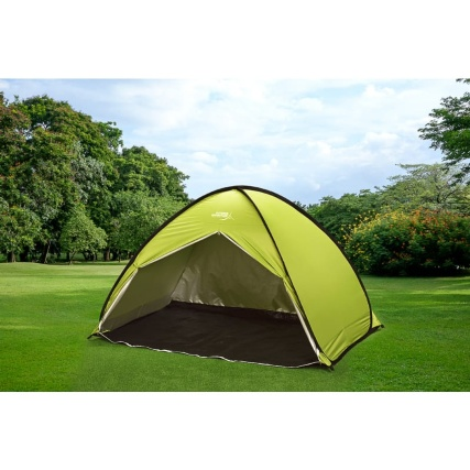 Outdoor Adventure 2-3 Person Pop Up Tent - Green