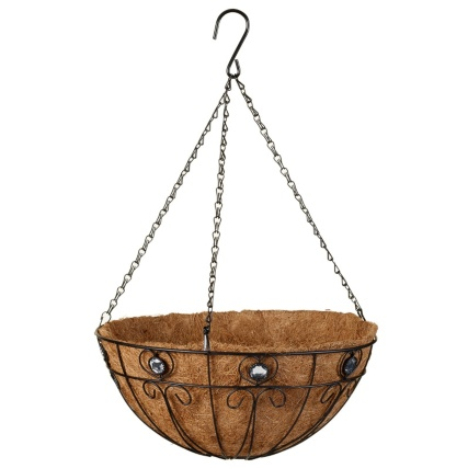 331284-14inch-decorative-hanging-basket-with-clear-jewels-2