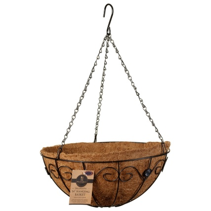 331284-14inch-decorative-hanging-basket-with-clear-jewels