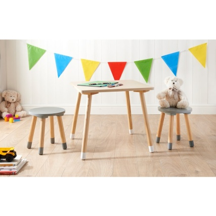 331437--mobel-kids-table--2-stools-2017-grey