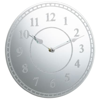 331518-glitter-wall-clock-silver-numbers