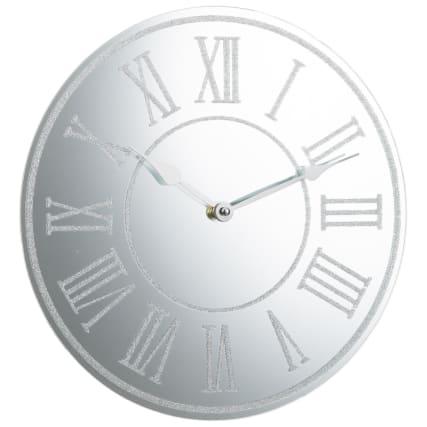 331518-glitter-wall-clock-silver-roman