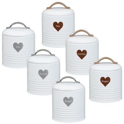 337371-set-of-3-storage-jars-tea-coffee-sugar-copper-silver-main