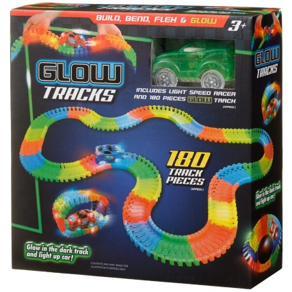 332170-glow-tracks-glow-in-the-dark-track-and-light-up-car-green
