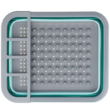 332200-addis-collapsible-dish-drainer-aqua-and-grey-2