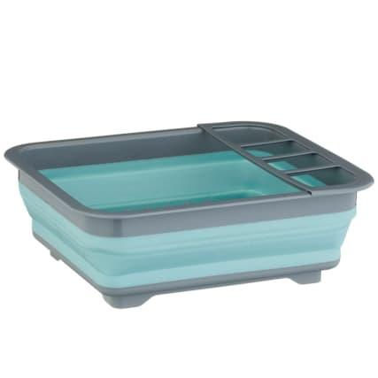 332200-addis-collapsible-dish-drainer-aqua-and-grey-3