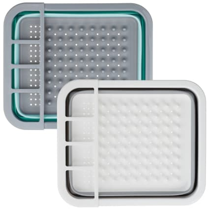 332200-addis-collapsible-dish-drainer-aqua-and-grey-main