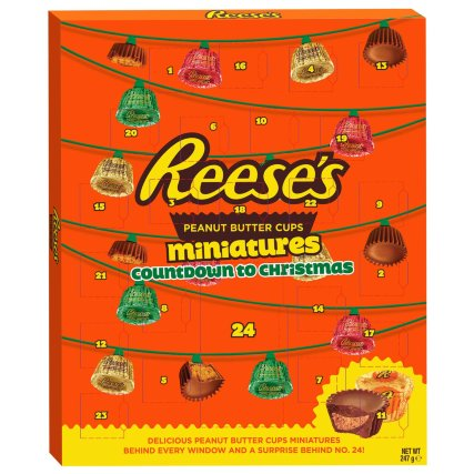 Reese S Peanut Butter Cup Advent Calendar 247g Advent