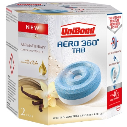 unibond aero 360 moisture absorber vanilla refills 2pk b m. Black Bedroom Furniture Sets. Home Design Ideas