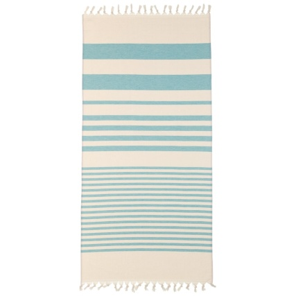 332621-lightweight-cotton-hammam-knot-tassle-beach-towel-aqua-2