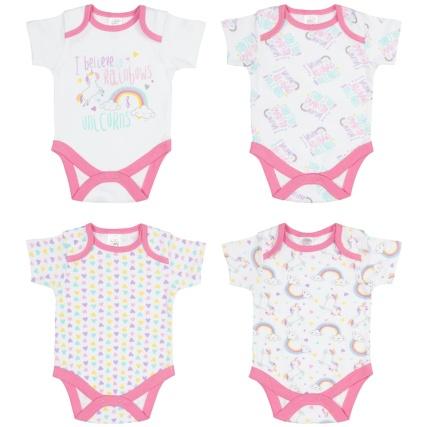332909-baby-girl-4pk-bodysuit-i-believe-in-rainbows-and-unicorns-group