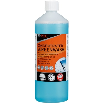 RAC Concentrated Screenwash 1L