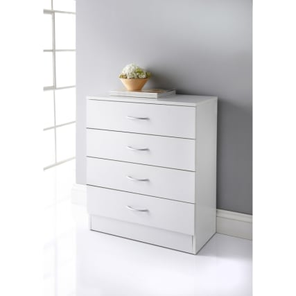 Lokken 4 Drawer Chest Bedroom Furniture B Amp M