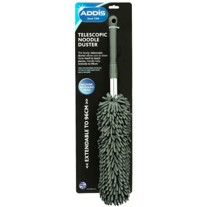 Addis Telescopic Noodle Duster Charcoal Cleaners B Amp M