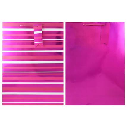 333477-holographic-2pk-gift-bag-pink