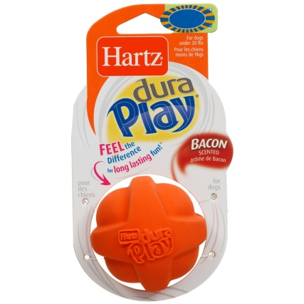 333525-hartz-duraplay-bacon-scented-dog-toy-orange-3