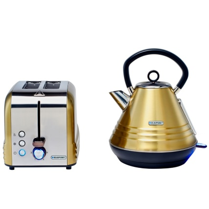 334048-blaupunkt-gold-stripe-breakfast-toaster-and-kettle