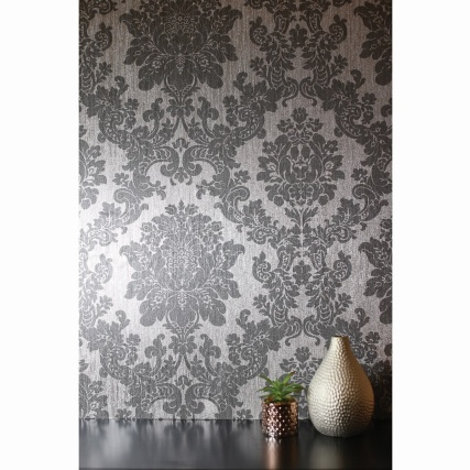334097-arthouse-crushed-damask-silver-wallpaper