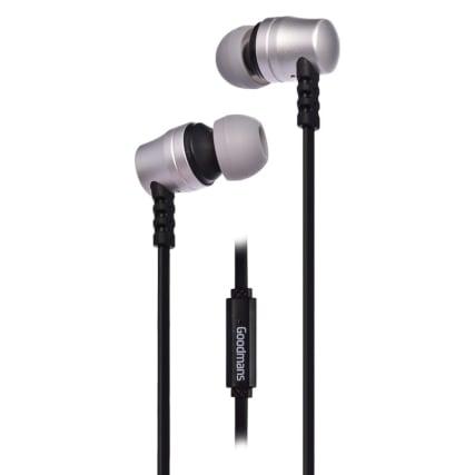 334281-goodmans-extra-bass-earphones-silver