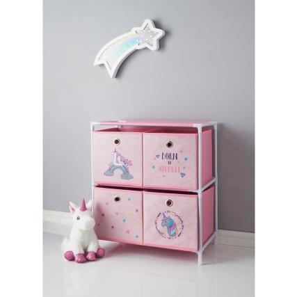 Unicorn 4 Drawer Chest Kids Furniture B Amp M
