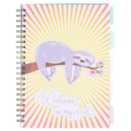 334955-a4-project-book-sloth